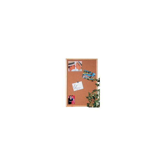 hebel tableau en li ge pour punaise avec cadre bois 40 cm x 30 cm pas cher achat vente. Black Bedroom Furniture Sets. Home Design Ideas