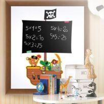 Pirate Blackboard - Pirate Stickers Muraux Bateau Pirate Avec Tableau Noir 66 X 44 Cm