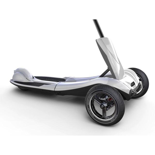 iboard trottinette lectrique pliable 3 roues blanc. Black Bedroom Furniture Sets. Home Design Ideas