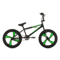 KS CYCLING - BMX Freestyle 20'' Cobalt noir-vert