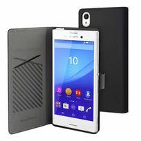 Made For Xperia - Mfx Etui Slim S Folio Noir Pour Sony Xperia M4 Aqua/m4 Aqua Dual