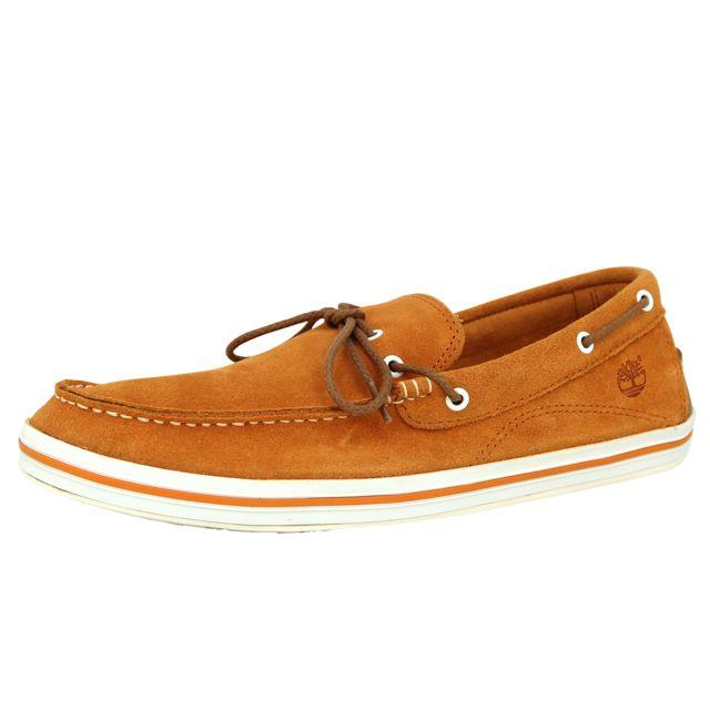 Bay Homme 1 Casco Boat Eye Cuir Chaussures Timberland Bateaux Ek 4OEnCC