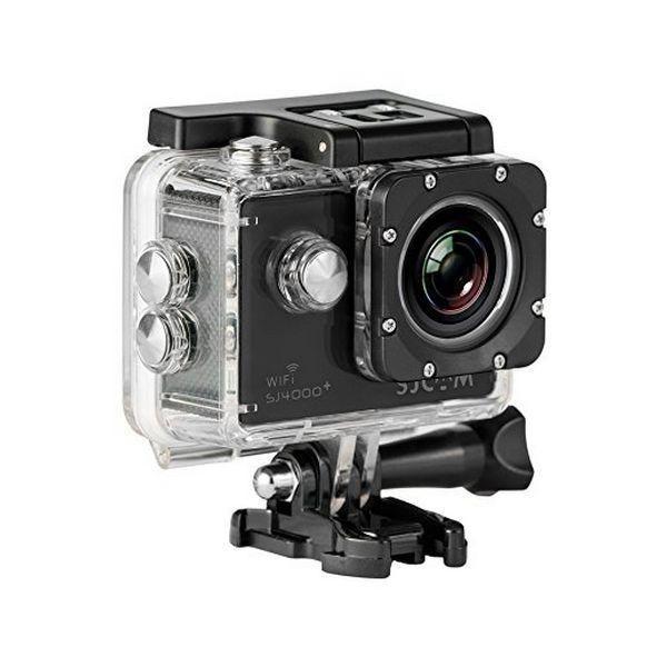 Totalcadeau Camera sportive Hd haute définition de 12 mégapixel couleur noire de 1.5pouces avec wifi