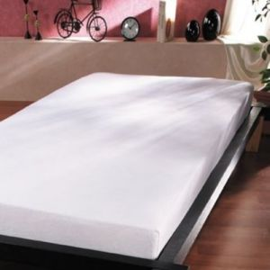 100pourcentcoton protege matelas 140x190 cm flanelle. Black Bedroom Furniture Sets. Home Design Ideas