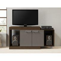 Meuble tv wenge achat meuble tv wenge pas cher rue du for Meuble tv rue du commerce