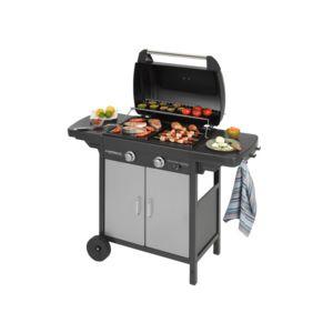 campingaz barbecue gaz 2 br leurs 60x35 cm gril plancha avec portes 2 series classic lx plus. Black Bedroom Furniture Sets. Home Design Ideas