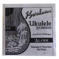 Pono Kooalau - Cordes Ukulele soprano Ko'oalau Alohi All Plain Nylon