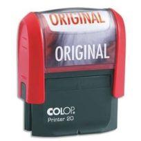Colop - Original Timbre à encrage automatique Empreinte Rouge 38x14 mm