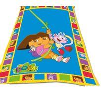 Dora l'Exploratrice - Dora Plaid couverture polaire Dora et babouche