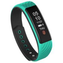 Yonis - Bracelet Sport Android Ios Montre Cardio Notification Appel Sms Vert