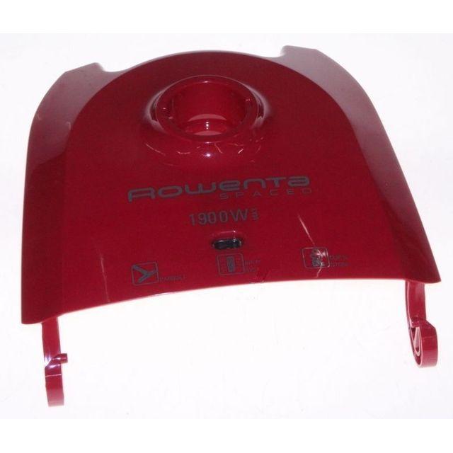 Rowenta Couvercle complet rouge pour aspirateur