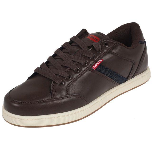 5baefc048d502 Levi s - Chaussures mode ville Levis Cypress brown Marron 71285 ...