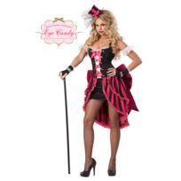 California Costume - Déguisement danseuse de cabaret parisienXS - 34/36