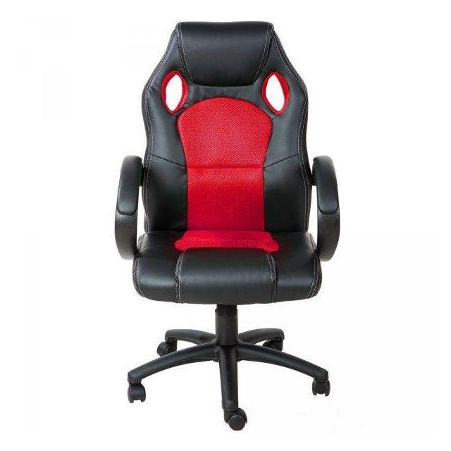 Helloshop26 Fauteuil de bureau chaise siège sport gamer