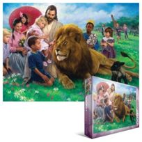 Eurographics - Greene - The Lion And Lamb- 1000 Pc Puzzle
