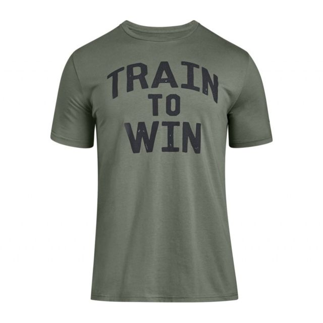 9a39cad8a35d4 Under Armour - T-shirt Train To Win vert pour Homme Taille - M - pas cher  Achat / Vente Tee shirt homme - RueDuCommerce
