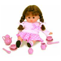 Petit Collin - Poupée Câline 28 cm Petit Chou avec accessoires