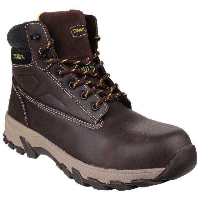 Stanley Tradesman - Chaussures montantes de sécurité - Homme 45 Eu, Marron Utfs3515