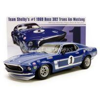 Acme - 1/18 - Ford Mustang Boss 302 - Trans Am Winner Lime Rock 1969 - 1801819