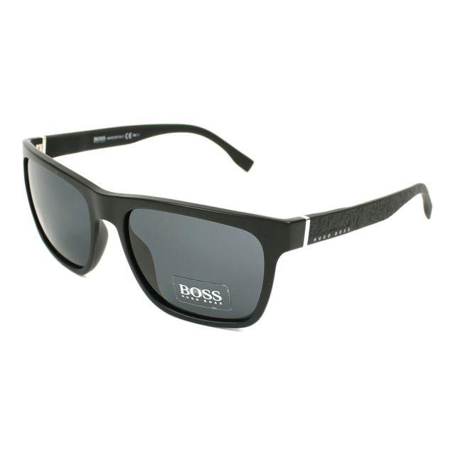 Hugo Boss - Lunettes de soleil Boss-0918-S Dl5 IR Mixte Noir - pas ... 3057affe15c1