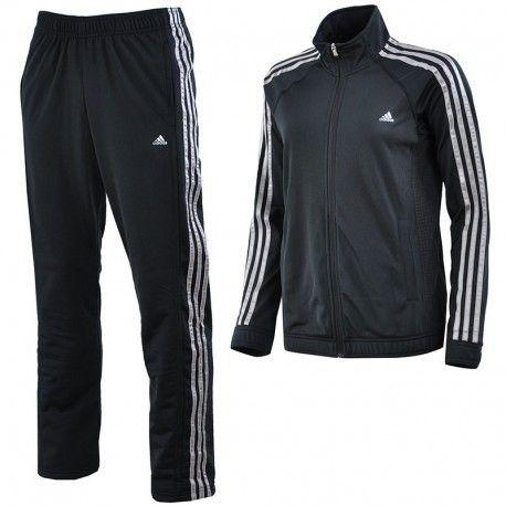 Adidas originals - Clima Knit Suit Bks - Survêtement Entrainement Femme  Adidas aaadebb6686