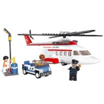 Sluban Europe - Jeu De Construction - Serie Aviation - Helicoptere Prive - Sluban M38-B0363