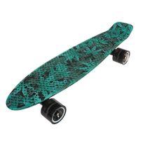 Banzai - Skateboard sk8 22.5 print map Blanc 13986