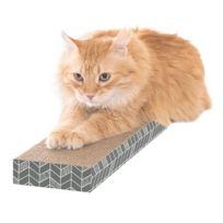 Sportpet Designs - Griffoir ondule en coffret S - 4x13x46cm - Pour chat