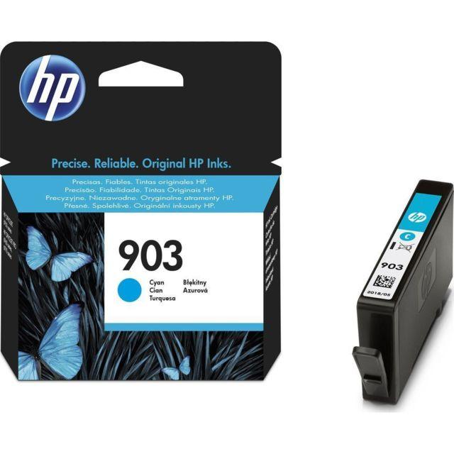 HP T6L87AE - Cartouche d'encre 903 Cyan HP 903 Cartouche Cyan authentique pour OfficeJetPro 6850/6860/6870/6950/6960/6970