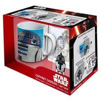 Abystyle - Coffret cadeau Star Wars : Mug, porte-clés et stickers : R2-D2