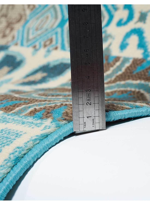 Tapis BC FAIAN Tapis Moderne par Unamourdetapis bleu 60 x 110 cm