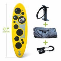 """ALICE'S GARDEN - Pack stand up paddle gonflable Vibrant 8'7"""" avec pompe haute pression, leash et sac de rangement inclus, SUP"""