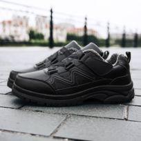 Chaussures Souliers antidérapants avec boucle anti dérapante d'âge moyen et vieux couleur: noir taille: 40