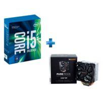 INTEL - Ventirad pour processeur BE QUIET Pure Rock + Processeur Core i5-7600 3.50GHz LGA1151 - KABYLAKE