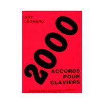 Paul Beuscher - 2000 accords pour claviers