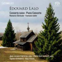 Bis - Edouard Lalo - Concerto russe pour violon et orchestre opus 29, Concerto pour piano Boitier cristal