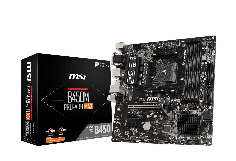 Carte mère AMD B450M PRO-VDH MAX MSI