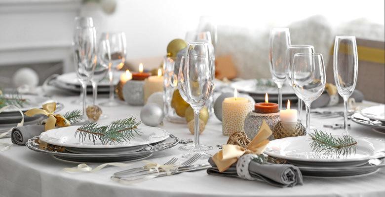 Dressez une belle table de fête