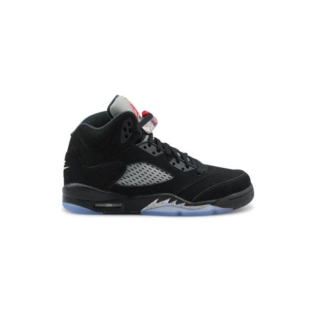 lowest price 30cef 46be5 Nike - Air Jordan 5 Retro Og Junior Noir 845036-003