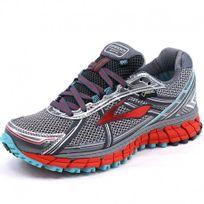 Brooks - Chaussures Adrenaline Asr 12 Gtx Gris Trail Femme
