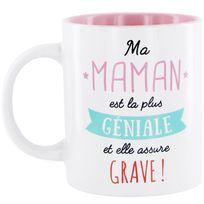 Touslescadeaux - Mug maman - Ma maman est la plus géniale