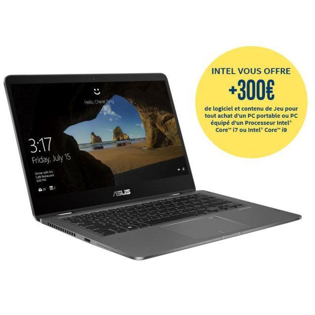 ASUS - ZenBook Flip UX461UA-E1092T - Gris
