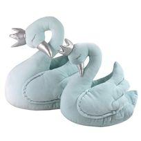 Sevira Kids - Peluche décorative pour chambre d'enfant - Cygne bleu