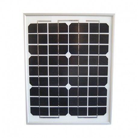 sellande panneau solaire 10w 12v monocristallin pas cher achat vente panneaux solaires. Black Bedroom Furniture Sets. Home Design Ideas