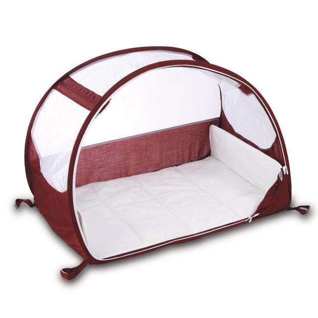 koo di berceau de voyage bubble blanc et aubergine pas cher achat vente lit parapluie. Black Bedroom Furniture Sets. Home Design Ideas