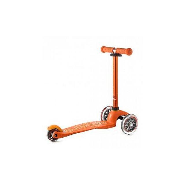 Micro Trottinette Mini Deluxe Orange Anodisé