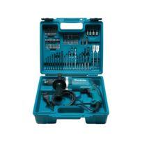 Makita - Perceuse à percussion - 710W + kit accessoires - HP1631KX3