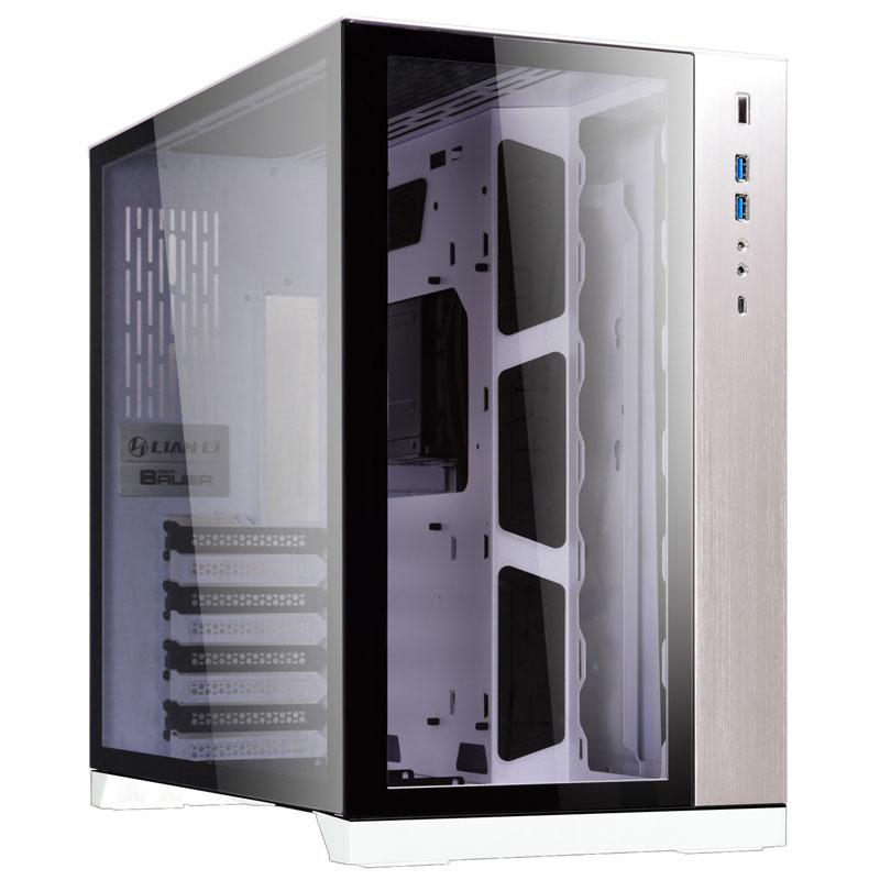PC-O11 - E-ATX - Blanc - Avec fenêtre