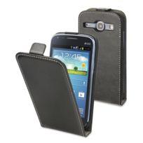 Muvit - Etui Slim à rabat noir Galaxy Core i8260 Musli0326