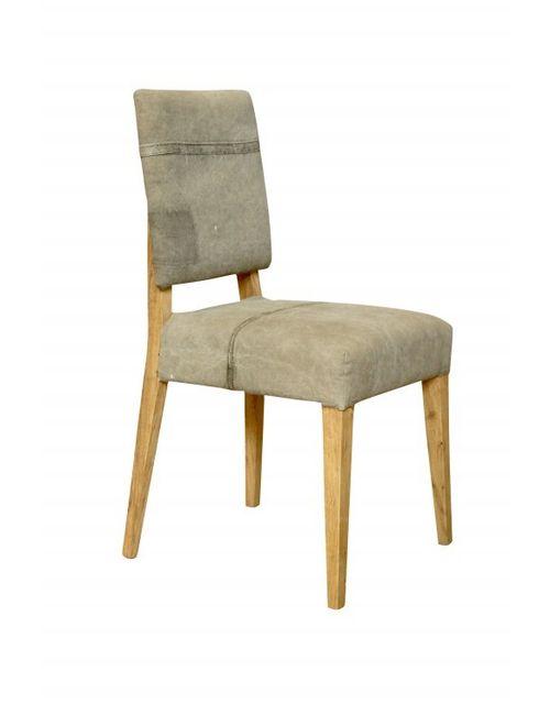 Decoshop chaise vieille b che kaki vert pas cher achat for Chaise zons